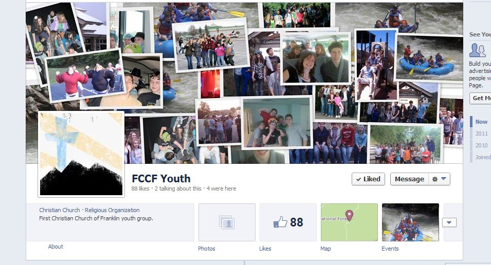 FCCF Youth Facebook Page