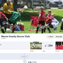 Macon County Soccer Club Facebook Page