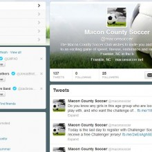 Macon County Soccer Club Twitter